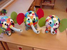 Afbeeldingsresultaat voor elmar der bunte elefant Elmer The Elephants, Yoshi, Fictional Characters, Art, Initials, Manualidades, Flowers, Colorful Elephant, Kunst