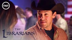 An ancient organization has vowed to defend us from unspeakable evil. Watch the series premiere of The Librarians Sunday, December 7 at only on T. Beautiful Blue Eyes, Beautiful Men, Christian Kane The Librarians, Secondhand Lions, Pink Fuzzy Sweater, Into The West, Series Premiere, Best Tv Shows, American Actors
