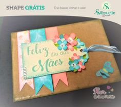 FREE studio cut file for mothers day card