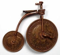 Image result for penny farthing coin