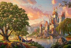 Esse artista transformou os desenhos da Disney em belíssimas pinturas
