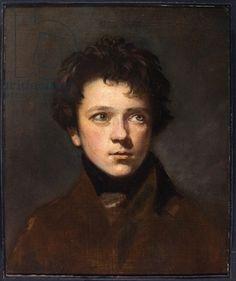 Regency Era Men's hairstyles: Portrait of a Young Man