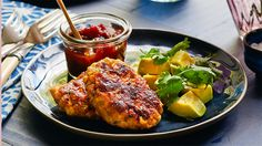 Chicken and corn koftas: This spicy Middle Eastern offering zings when paired with a lime and avocado side.