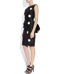 Over sized polka dots & bustle, so darn cute.  Avion Feminin, Bustle Dress