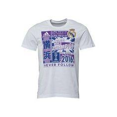 Real Madrid T-shirt Adidas - tshirt real madrid football club - adidas Mens  RMCF 125ac21627b7c