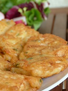 Vegetable Pancakes, Potato Vegetable, No Salt Recipes, Great Recipes, Cooking Recipes, Baked Chicken, Chicken Recipes, European Dishes, Czech Recipes