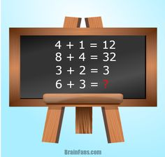 Are you a genius in math? Then this math puzzle could be right for you! Be the first ever to solve this math problem for geniuses and share if you like;)