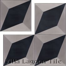 Large Cubes Cement Tile in Stock | Villa Lagoon Tile