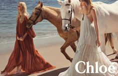 Chloé, C: You'd be hard-pressed to find a recent Chloé campaign that isn't lovely — and this one, shot by Inez