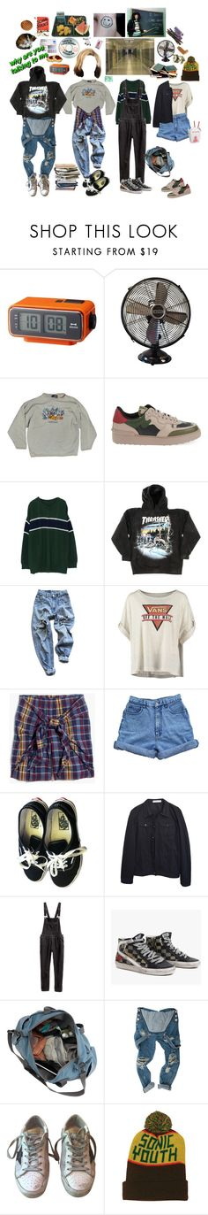 """""""protaginist of a 90's high school tv show"""" by midnightcrew ❤ liked on Polyvore featuring Sharpie, HallWay, Disney, Valentino, Levi's, Vans, Madewell, Bill Blass, H&M and James Perse"""
