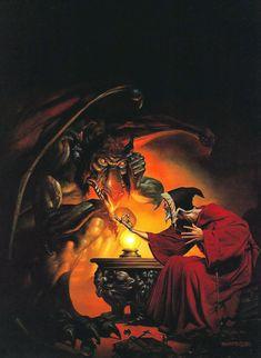 boris vallejo - dragon's knight