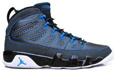 pretty nice 0b225 bd1c9 Jordan 9 retro black photo blue Air Jordan 9, Air Jordan Shoes, Adidas Shoes