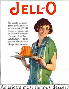 Other Collectible Ads Creative 1942 Jello Kate Smith Singing Prases Of Jell-o Ad