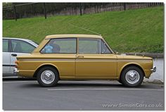 s_Hillman Imp 1975 Super side - Hillman Super Imp The Hillman Super Imp continued in production until the last Imp left the line in 70s Cars, Retro Cars, Vintage Cars, Coventry, Hillman Husky, Classic European Cars, Automobile, Ford Anglia, Good Looking Cars