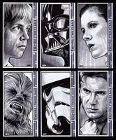 Star Wars: The Empire Strikes Back Simbolos Star Wars, The Force Star Wars, Star Wars Love, Star Wars Comics, Game Of Thrones Novels, Use The Force Luke, Saga, The Empire Strikes Back, Star Wars Poster