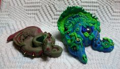 Clay dragons - my 1st attempt with clay