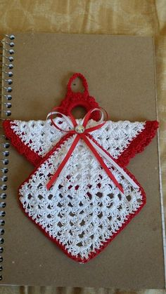 Vintage Granny Square Christmas Tree Free Crochet Pattern-V Crochet Christmas Decorations, Crochet Christmas Ornaments, Christmas Crochet Patterns, Holiday Crochet, Crochet Towel, Crochet Dishcloths, Crochet Doilies, Crochet Flowers, Crochet Crafts