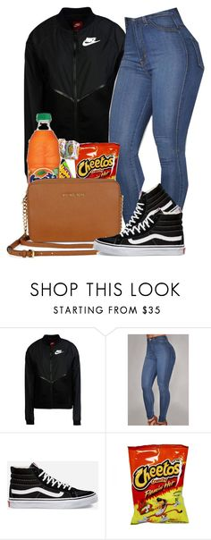 """6\21"" by jhayceb on Polyvore featuring NIKE, Vans and Michael Kors"