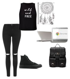 """""""Free"""" by ashtonsgirl-5soslover on Polyvore featuring Topshop, Miss Selfridge, Sole Society, Toshiba and Converse"""