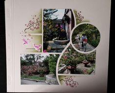 Bilbao-Macao - idee scrap et moi mars 2015 Scrapbook Templates, Digital Scrapbooking Layouts, Scrapbook Sketches, Scrapbook Page Layouts, Scrapbook Journal, Scrapbook Albums, Scrapbook Cards, Macao, Wedding Scrapbook