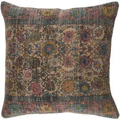 "Rosalind Wheeler Marion Throw Pillow Size: 18"" H x 18"" W x 4"" D, Color: Pink"