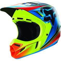 New Fox Racing Race Men's V4 Off-Road Motorcycle Helmet 2016 - Motorhelmets