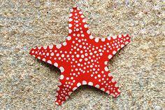 Paper Plate Starfish