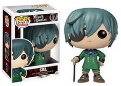 This The POP! Animation Black Butler Ciel Vinyl Figure runs the Funtom Company, which manufactures toys and sweets. Stands 3.75 inches tall and packaged in window box.