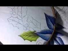 Ana Ferrante - ROSAS - Vídeo 3 - Pintando botões de rosas - YouTube