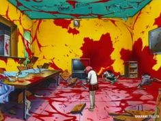 Elfen Lied. They totally deserved it - They beat a puppy to death. I cried so hard watching it.