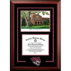 Campus Images NCAA California State University, Chico Spirit Graduate Diploma Lithograph Picture Frame