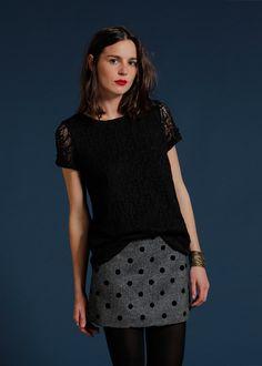Sézane / Morgane Sézalory - Mason skirt #sezane #mason www.sezane.com/fr