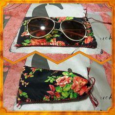 #diy #sunglasses #fabric #case #craft