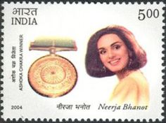 TIL of Neerja Bhanot a 22 year old Indian air hostess who helped hide 41 American passports aboard a hijacked plane. She died shielding three children from gunfire and was posthumously awarded bravery medals from India Pakistan and the United States.