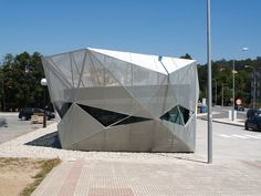 Gallery of Tourism Office in Arteixo / Alejandro García y Arquitectos - 16 Bus Stop, Futuristic, Outdoor Gear, Metal, Building, Offices, Architects, Tourism, Modern Design