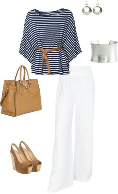 Weekend casual chic
