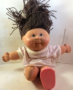 1991 CPK Cabbage Patch Kids PRETTY CRIMP N CURL GIRL LOOK Old Dolls Toys $19