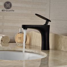 65.27$  Watch more here - Oil Rubbed Bronze Bathroom Basin Faucet Vesse Sink Mixer Tap Single Handle Free Shipping   #SHOPPING