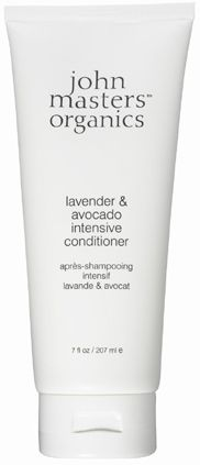 John Masters Organics - Lavender and Avocado Conditioner. Smells amazing and makes my hair so soft.