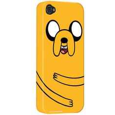 One of my favorite discoveries at CartoonNetworkShop.com: Adventure Time 'Jake Face' iPhone Case