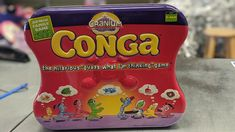 Give the family hours of fun with some great board games-Conga from Cranium ($15) #gentlyused #buysellrepeat #baby #infants #toddlers #fayettevillemoms #fortbraggnc #fayettevillenc #children #kids #onceuponachildfayettevillenc Infants, Board Games, Toddlers, Hilarious, Toys, Children, Fun, Baby, Congas