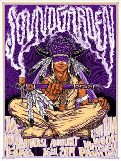 Soundgarden Albuquerque, The Woodlands & Atlanta Posters by Kyler Sharp