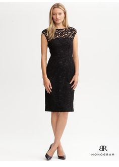 Banana Republic lace dress