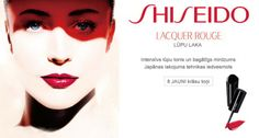 Shiseido Advertisement Lacquer Rouge FW 2012-13 - Raquel ...