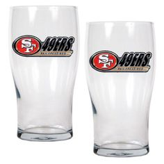 Great American NFL 20 oz. Pub Glass Set - GEPGEP20