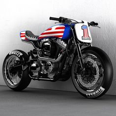 Couldn't resist! #evilknievel #caferacers #scrambler #flattracker #streettracker #streetscrambler #harleydavidson #dropmoto #returnofthecaferacers #caferacerstyle #caferacerculture #streetfighter