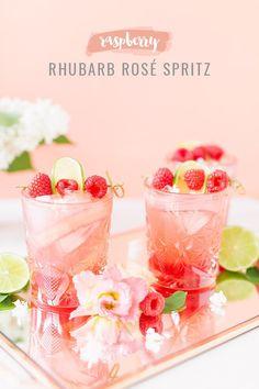 Easy Strawberry Mint Lemonade Recipe - Pineapple Paper Co. Raspberry Rhubarb, Strawberry, Rhubarb Syrup, Rose Cocktail, Premium Vodka, Mint Lemonade, Berry Picking, Summer Cocktails, Summer Parties