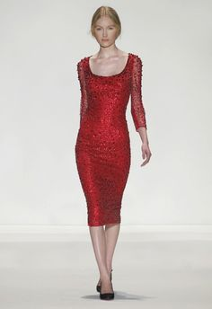 Jenny Packham - When the Evening Calls for Red