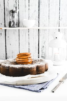Chocolate, orange and hazelnut cake