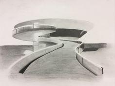 Arquitetura em desenho.